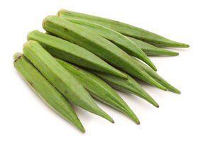 Замразена бамя - първо и второ качество - Изображение 1