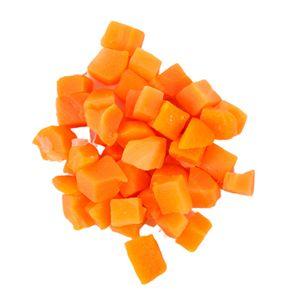 Замразени моркови рязани на кубчета - Изображение 1